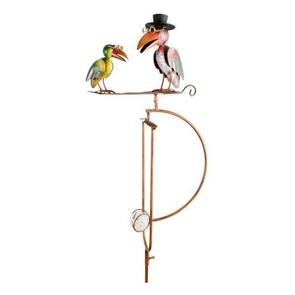 Lot de 2 balanciers corbeau et oiseau