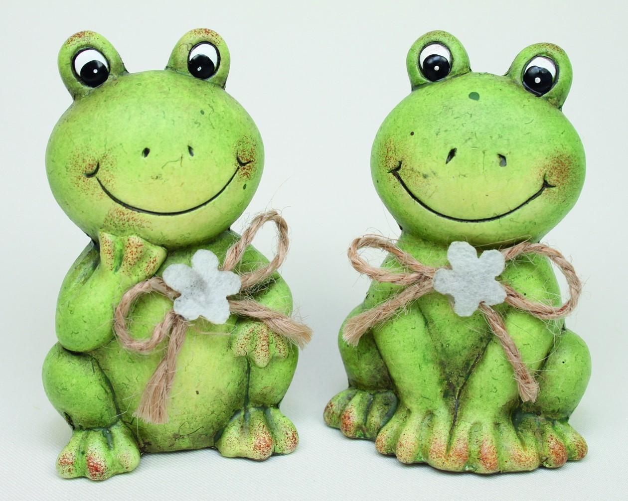 Lot de 12 grenouilles 2 modèles assortis