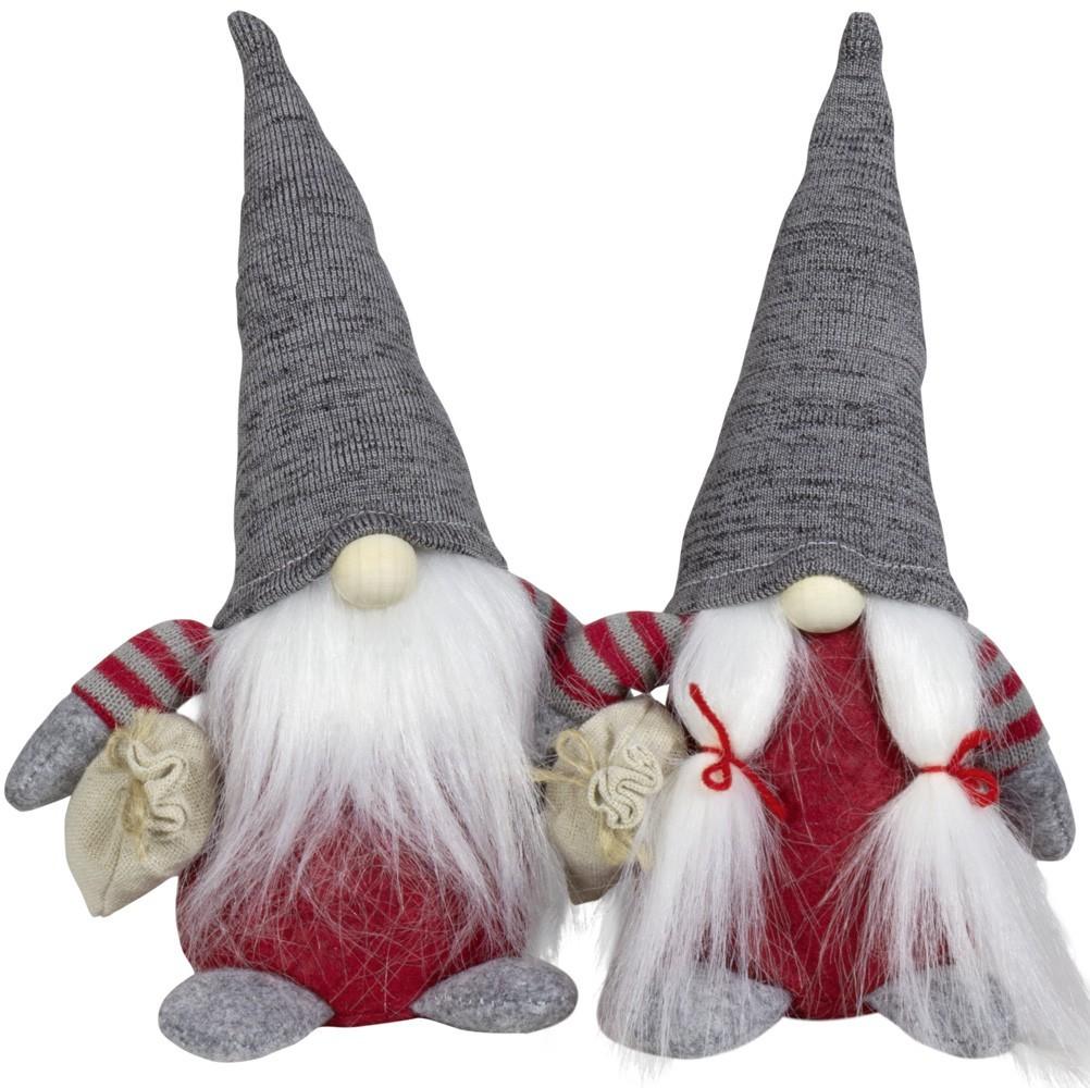 Lot de 24 gnomes 15cm (2modèles assortis)