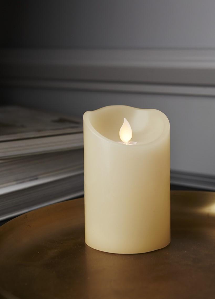 Lot de 9 bougies 12.5cm led