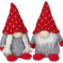Lot de 24 gnomes 13 cm 2 modèles assortis