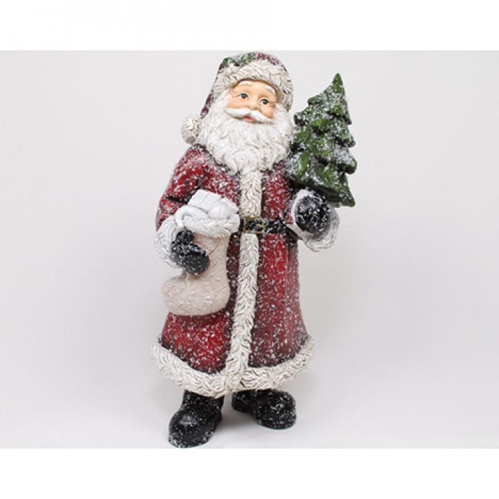 Lot de 4 Père Noël 20cm