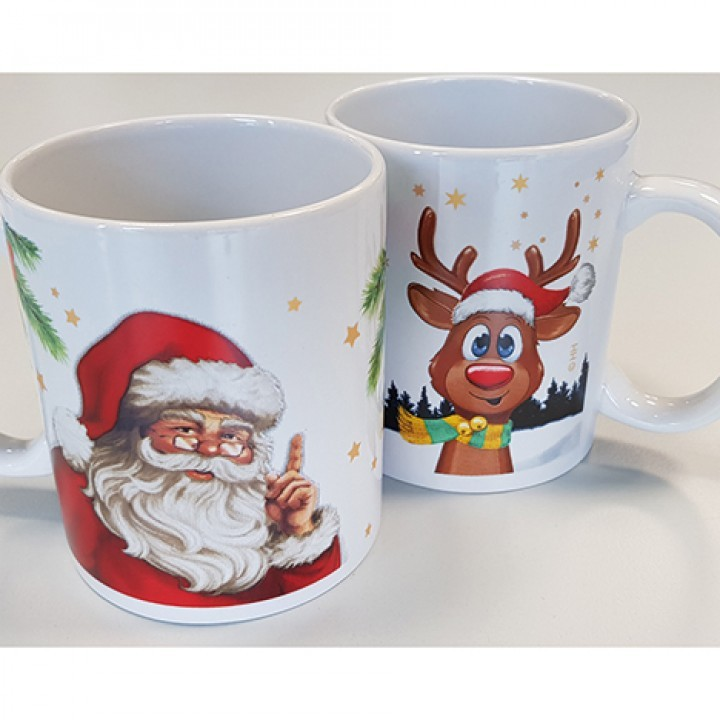 Lot de 24 tasses 330ml 2modèles assortis