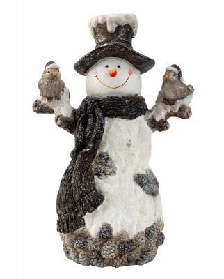 Lot de 2 bonhommes de neige 49cm