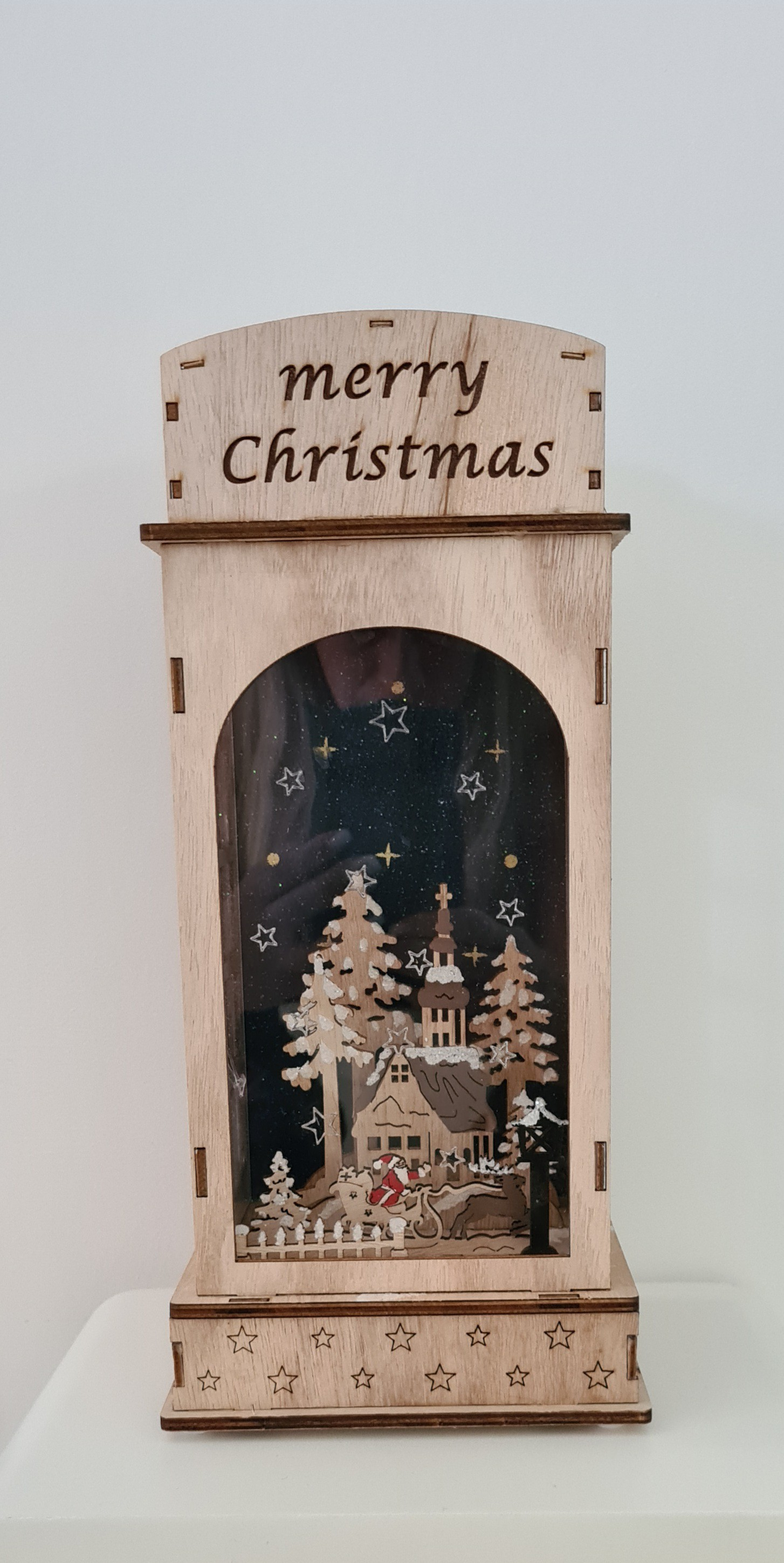 Lot de 4 décorations Noël 31cm