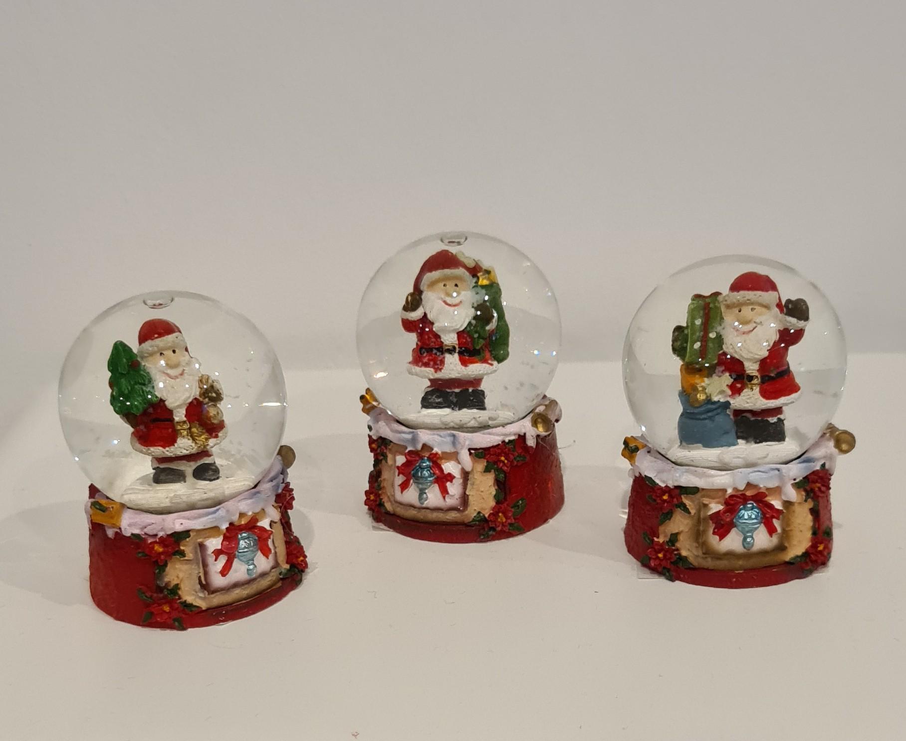 Lot de 24 boules de Noël 5x6x5
