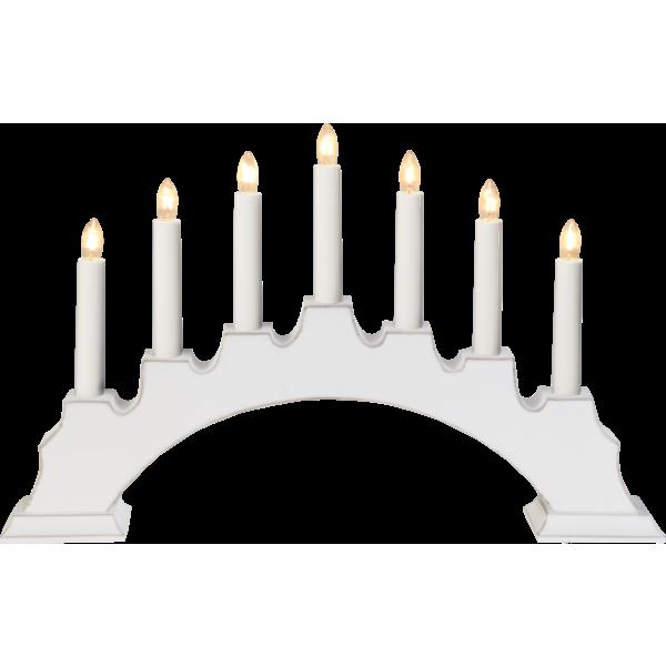 Lot de 9 chandeliers (45x28 cm)